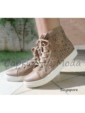 SINGAPORE-SNEAKERS CON BORCHIETTE