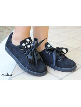 Scarpa Malta sneakers con strass