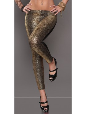 ROLS-LEGGINGS IN ECOPELLE