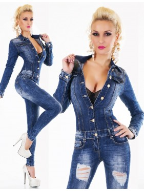 JOELLE-OVERALL IN JEANS