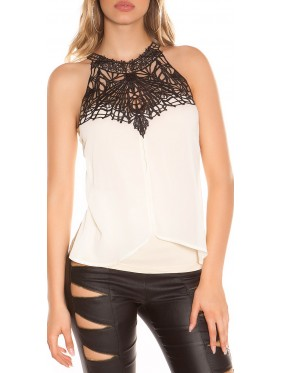 KASSY-TOP CON PIZZO