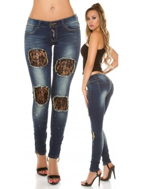 Jeans James con pizzo