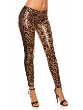 DEENA-LEGGINGS IN ECOPELLE