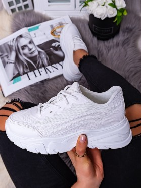 Sneakers fitness bianco