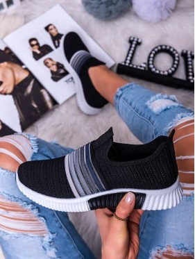 Sneakers Arcobaleno nero
