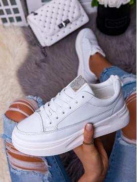 Sneakers brillantini bianco