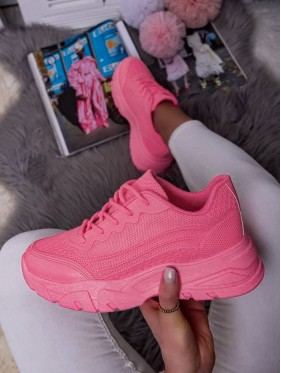 SNEAKERS FUXIA